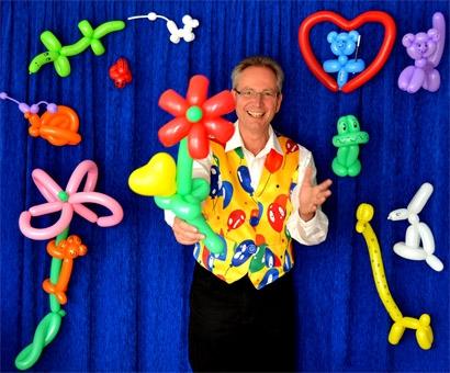 Magic Thomas - Als Ballonkünstler für Ihr Kinderfest in Baden-Württemberg