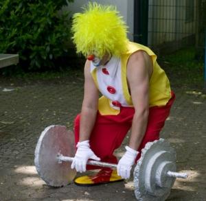 Feiern Sie mit Clown und Zauberer Wowa - Kinderfest