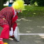 Clown und Zauberer Wowa