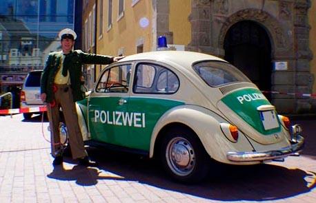 Comedypolizist Oberwachtmeister Riemenschneider