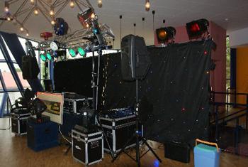 Ein möglicher Aufbau für Ihr Event mit DJ Klaus