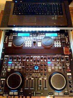 DJ Maik aus Braunschweig - Beispiel Equipment