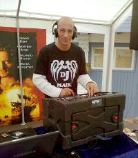DJ Maik aus Braunschweig mit Lasershow
