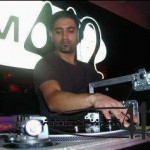 DJ Mociani in Aktion
