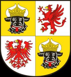 Das Wappen von Mecklenburg Vorpommern