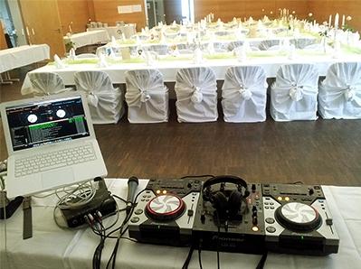 Ausschließlich professionelles Equipment für Ihre Feier im Markgräflerland - DJ Lörrach