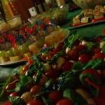 Ein leckeres Buffet zum 18. Geburtstag