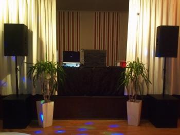 Ein dezenter Aufbau für Ihr Firmenevent - Firmenfeier DJ Stendal
