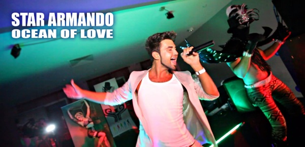 Star Armandos Ocean of Love fuer Ihr russisches Event